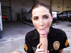 Трахнул девушку-полицейского