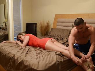 Сука пришла от любовника и трахнулась с мужем