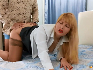 Иностранец подцепил проститутку на Арбате в Москве и оттрахал в отеле