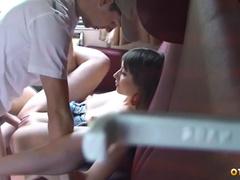 Настоящий секс юной пары в поезде Адлер - Москва
